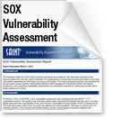 SAINT SOX Vulnerability Assessment Report