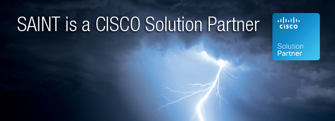 SAINT is a CISCO Solution Partner